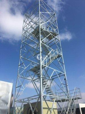 雷竞技官网ios处理工程排气筒塔架